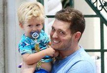 Michael Bublé & His Son Noah
