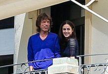 Mick Jagger & Melanie Hamrick